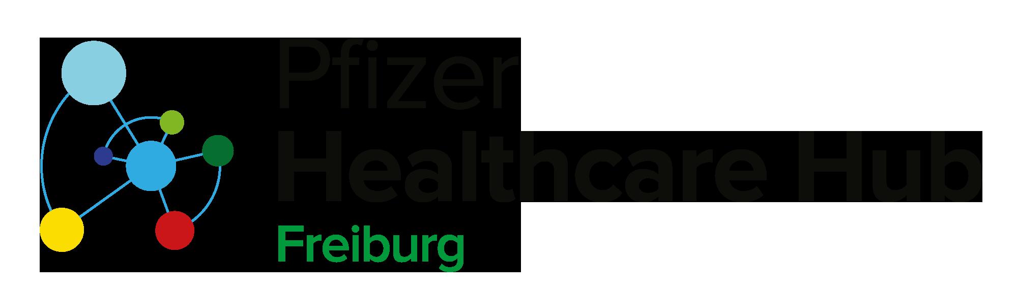 Logo Pfizer Healthcare Hub